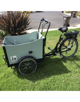 Cargo Box Bike Bakfiet Bicycle Family Kids Trailer Beach Park Electric